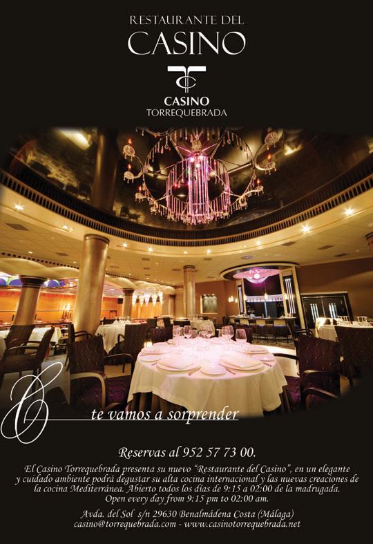 Restaurante del casino suncoast casino jobs in durban